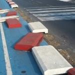 Pista ciclabile Lungomare: vandali in azione a Catania