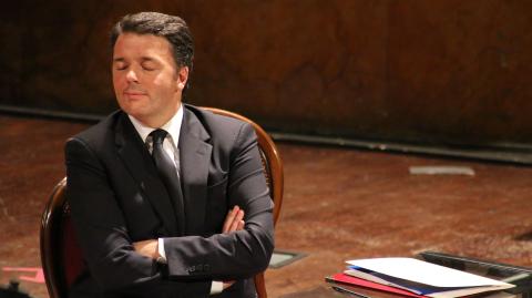 Matteo Renzi - Foto di Vincenzo Barbagallo