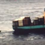 Nave mercantile incagliata nello stretto di Messina. Il video
