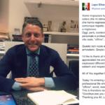 Lapo Elkann va in riabilitazione? Il messaggio nel suo profilo Facebook
