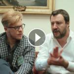 Elezioni Palermo 2017, Ismaele La Vardera incontra Matteo Salvini e Giorgia Meloni | VIDEO