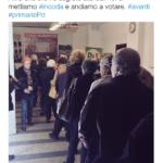Primarie PD, Giachetti twitta la foto della fila per votare, ma potrebbe essere di un'altra elezione