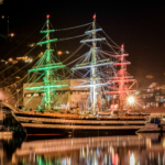 La nave Amerigo Vespucci in giro per il mondo