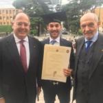 Eccellenze: Premiato il palermitano Ignazio Gattuso alla Sapienza di Roma