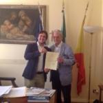 Il ventenne Alessio Arena riceve un riconoscimento dalla Regione Sicilia