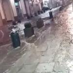 (video) Palermo. La pioggia travolge Palermo