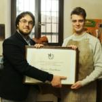Riconoscimento per Federico Castelluccio, giovane promessa dell'arte liutaria italiana