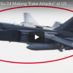 Nave da guerra Usa verso acque siriane, jet russi la sorvolano a bassa quota – VIDEO