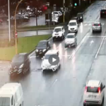 Guida spericolata per le strade in Toscana. L'inseguimento della Polizia. Ecco il video